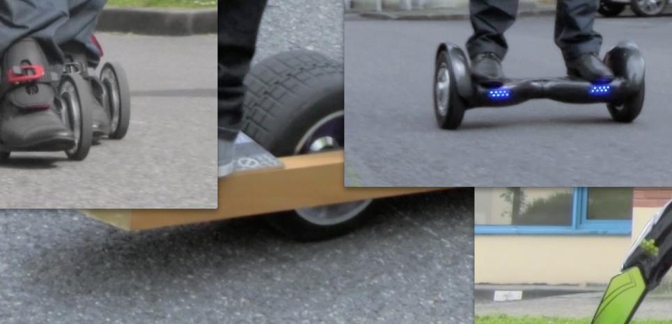 Smartboard, Rocketskates, Blink Board, Gyroroue, Yikebike… Le test comparatif