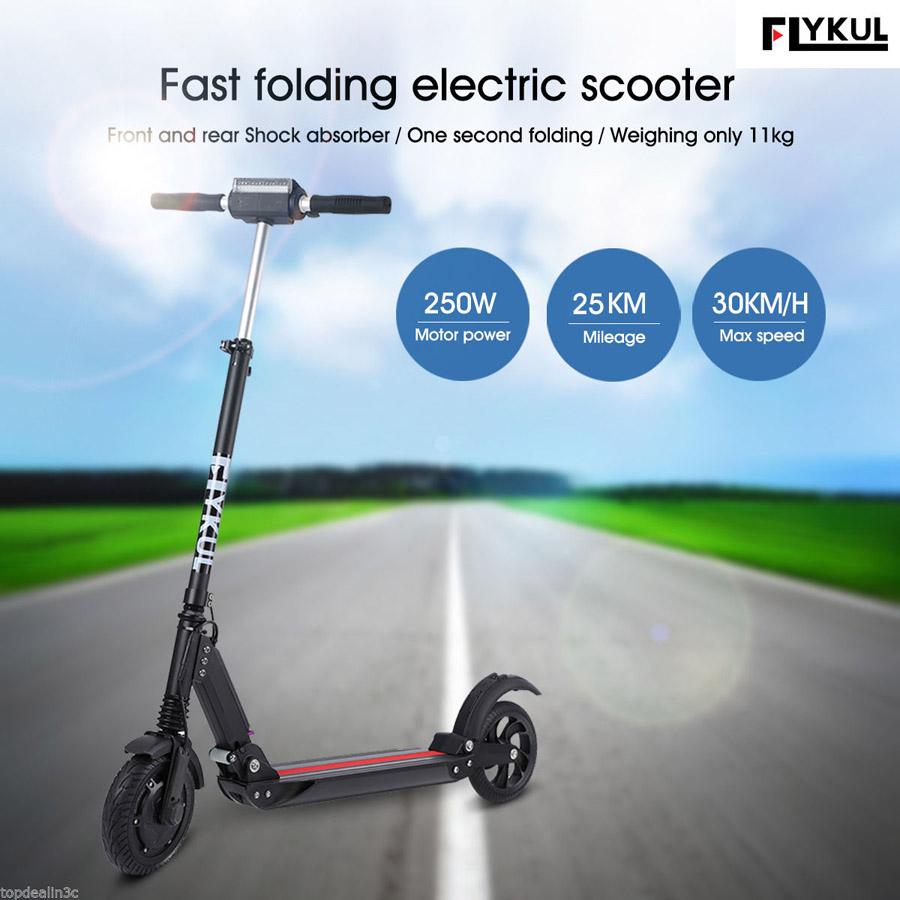 Trottinette électrique Flykul DD03 250W