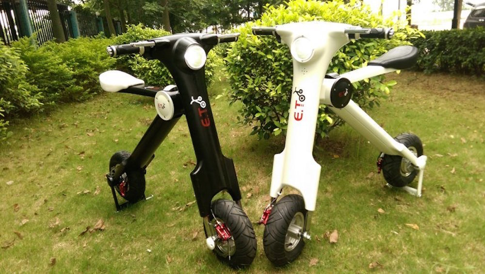 ET Scooter, électrique, pliable et moins de 3 000$ !