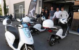 Un scooter électrique made in Grasse