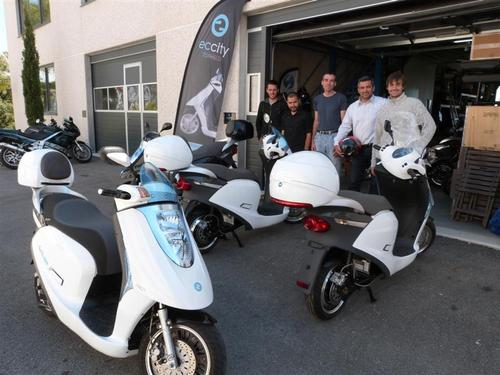 Un scooter électrique made in Grasse