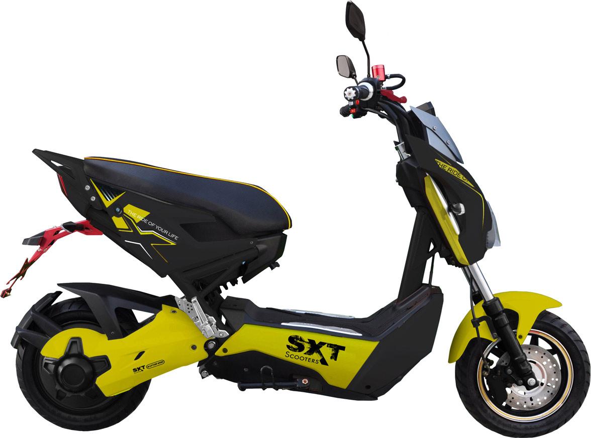 SXT Raptor 1200 : le scooter électrique Naked