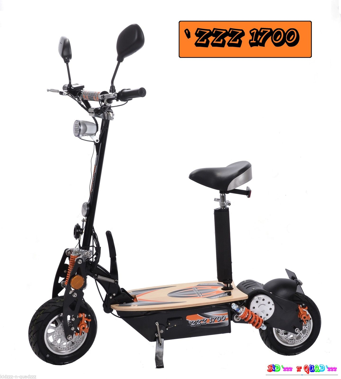 zzz 1700 sport homologu route 48v 1000w 40 km h trott 39 n 39 scoot have elec fun. Black Bedroom Furniture Sets. Home Design Ideas