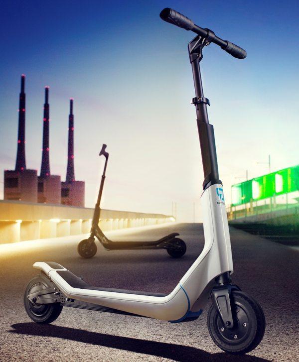 Citybug : la trottinette électrique pour jeunes seniors urbains