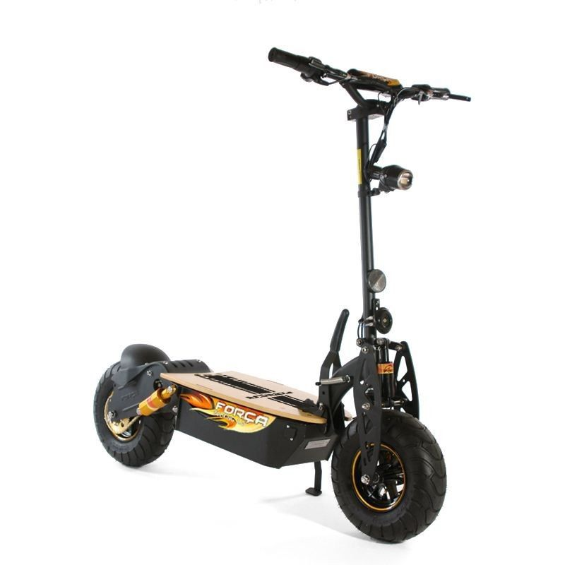 forca evoking 50 km h deluxe trott 39 n 39 scoot have elec fun. Black Bedroom Furniture Sets. Home Design Ideas