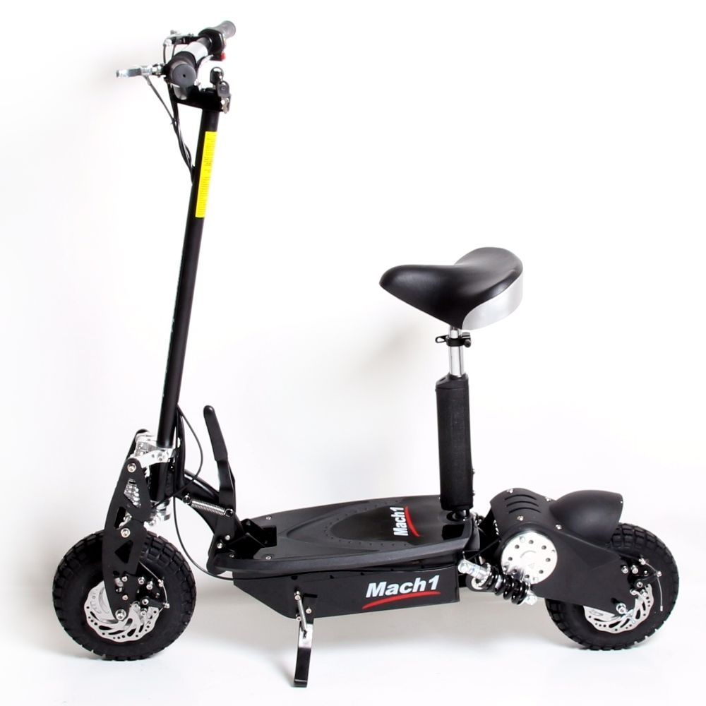 mach 1 e scooter 36v 1000w trott 39 n 39 scoot have elec fun. Black Bedroom Furniture Sets. Home Design Ideas