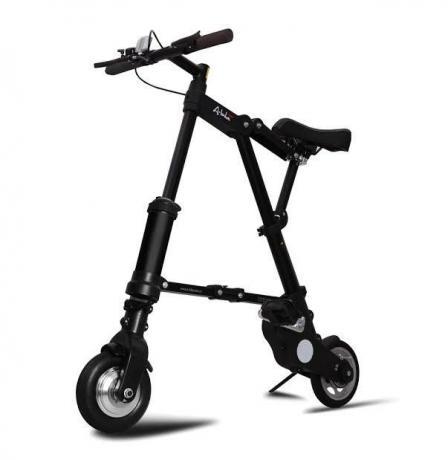 Un vélo électrique compact et pliable séduit les internautes