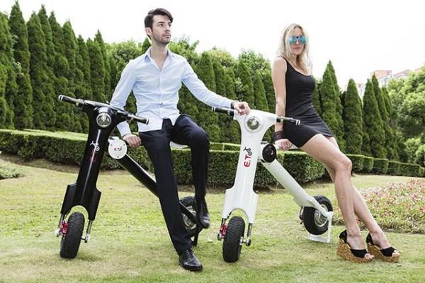Le scooter électrique, une autre façon de se déplacer