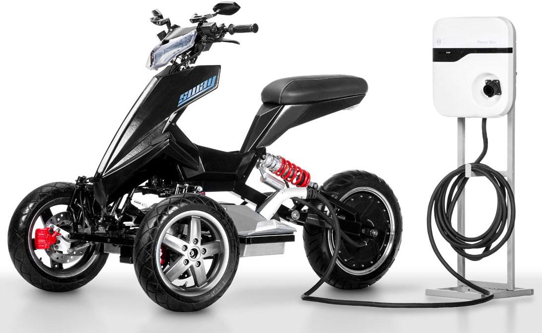 Sway Lithium : un 3 roues électrique 100% fun