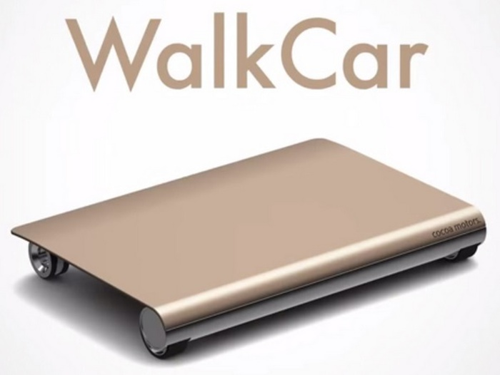 WalkCar: le moyen de transport de demain