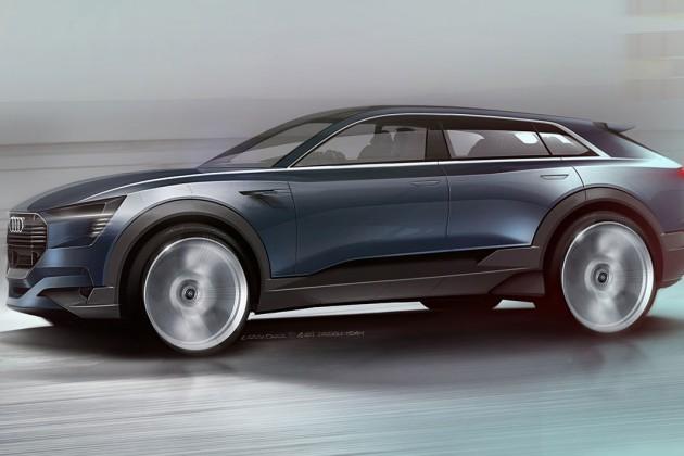 Audi e-tron quattro, le SUV électrique qui offrirait 500 km d'autonomie