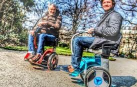 Deux nouveaux moyens de transport urbain alternatifs écolos et connectés Big Robots