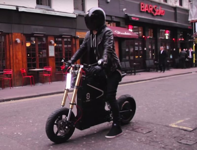 ETT un scooter électrique taillé au laser venu de Nouvelle Zélande!