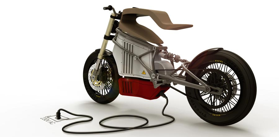 La e-Raw, une moto française 100 % électrique – Interview
