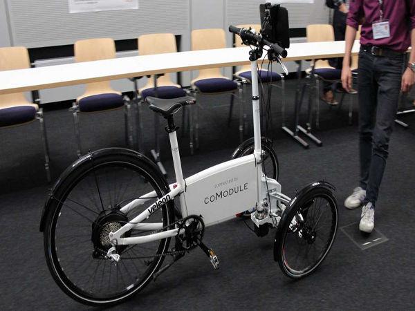 Le vélo électrique autonome est signé CoModule
