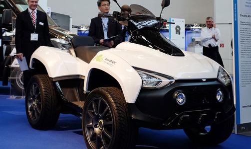 Acer lance… un véhicule électrique tout terrain !