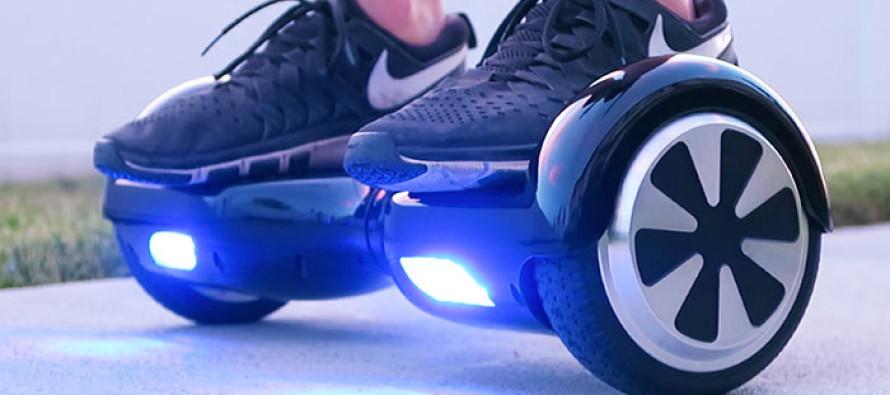 En Angleterre, les « hoverboard » vont devoir rester au garage