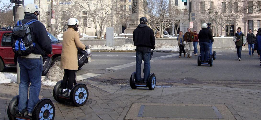 Une loi vieille de 180 ans interdit les segways dans les espaces publics britanniques