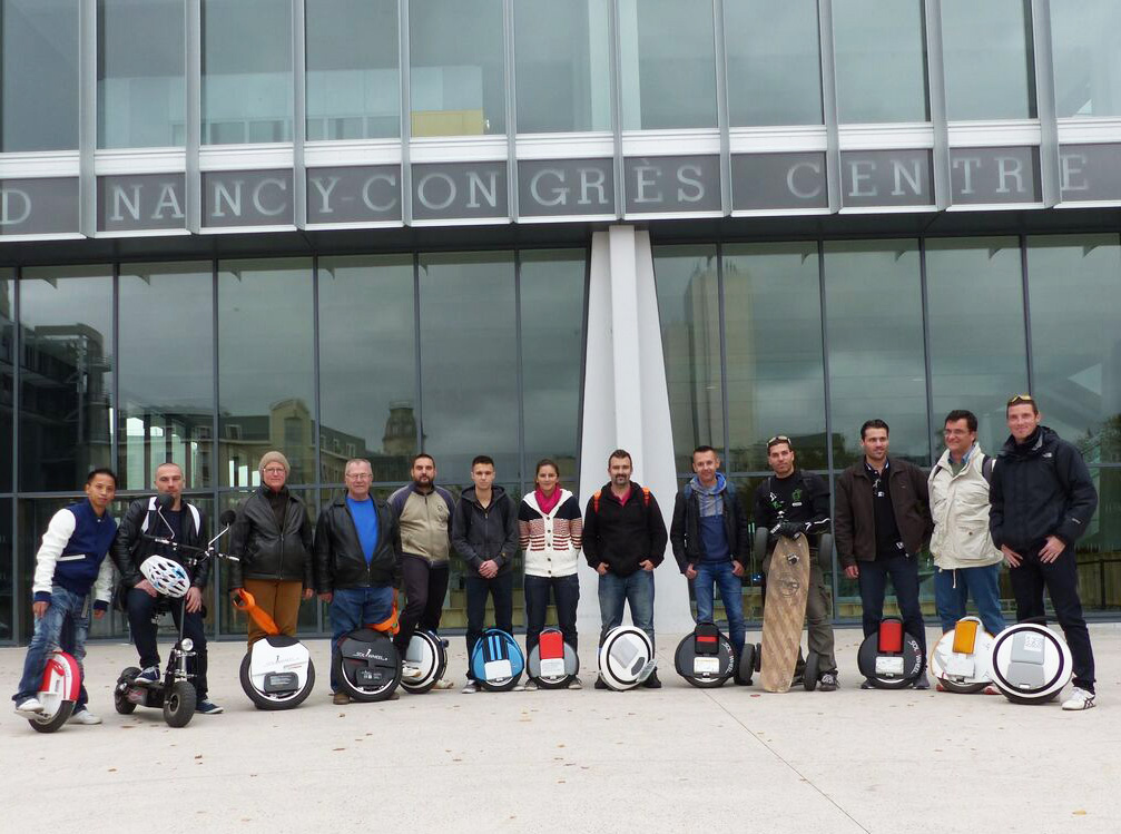 Rencontre de la mobilité urbaine électrique à Nancy