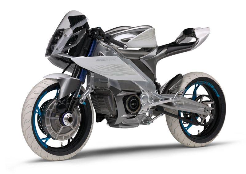 La moto électrique Yamaha PES2 passe aux deux roues motrices