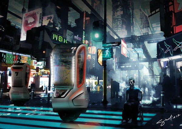 Nissan Tama-Go, le monoroue de 2040 pour la ville de Tokyo