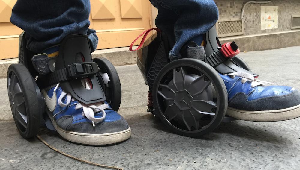 On a testé les Rocket Skates, premiers patins électriques