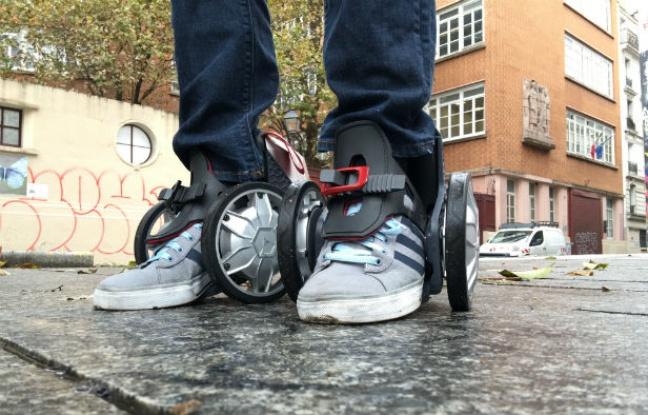 C'est le pied: Les rollers électriques débarquent en France!