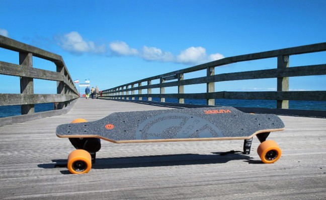 E-Go, le skateboard électrique high tech