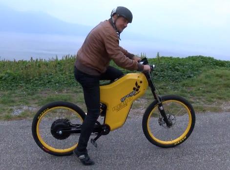 Le vélo électrique qui file comme l'éclair