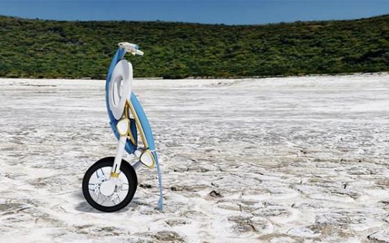 INU : un scooter électrique design, et qui se plie à la voix