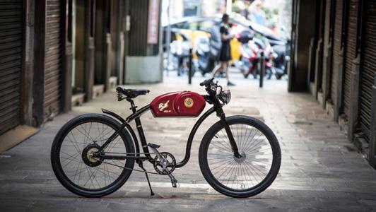 Oto Cycles RaceR, le vélo électrique inspiré d'une moto café racer