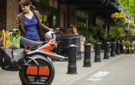 Le Scooter électrique arrive en France