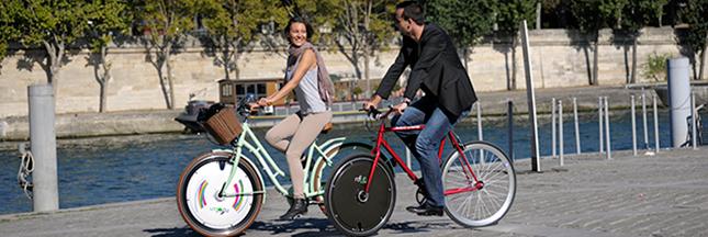 Rool'in : offrez une roue électrique à votre vélo pour Noël
