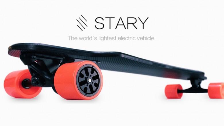 Stary, le skateboard électrique ultra-léger