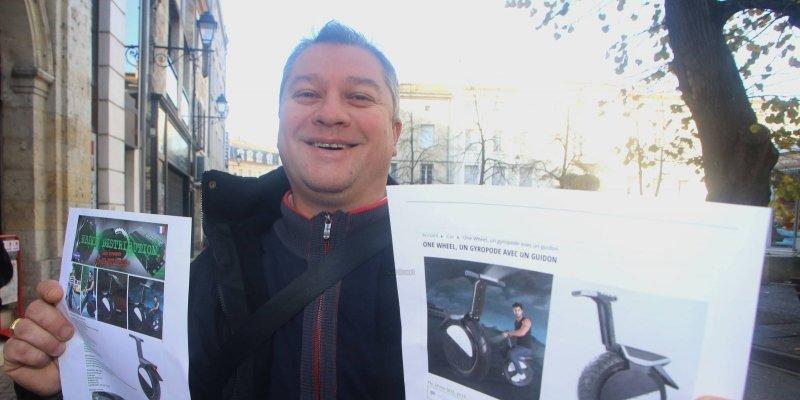 Insolite : un vélo électrique nouvelle génération vendu en Albret
