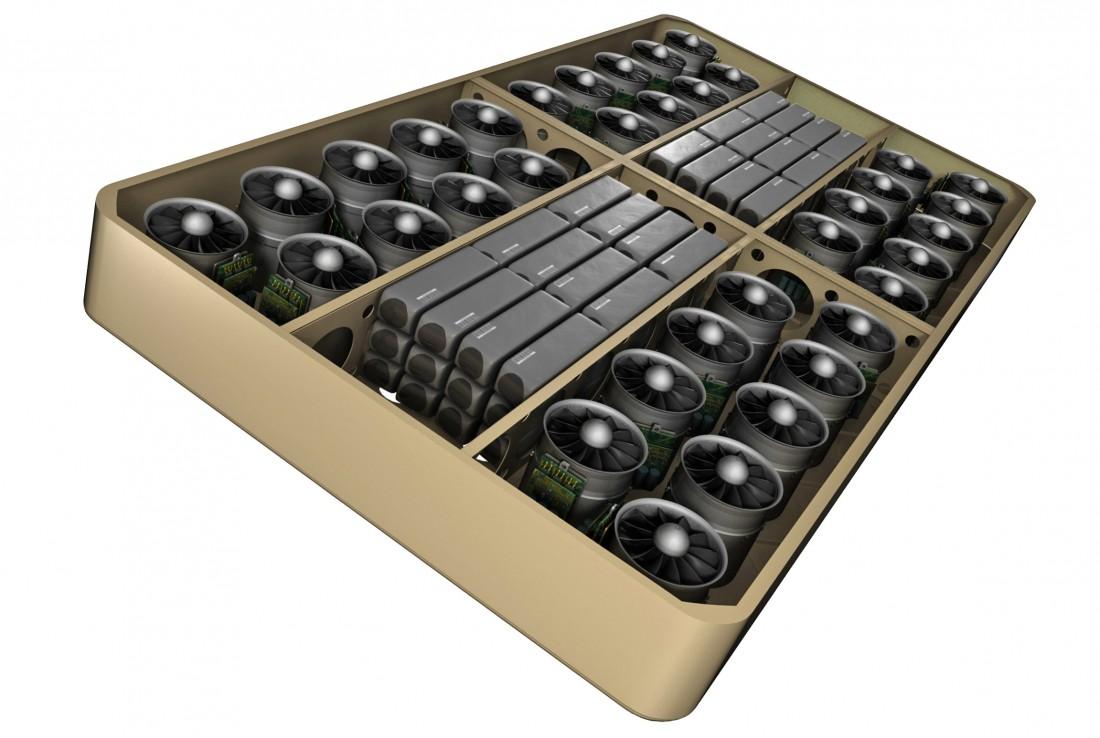 Arcaboard : le domino géant qui se prend pour un hoverboard
