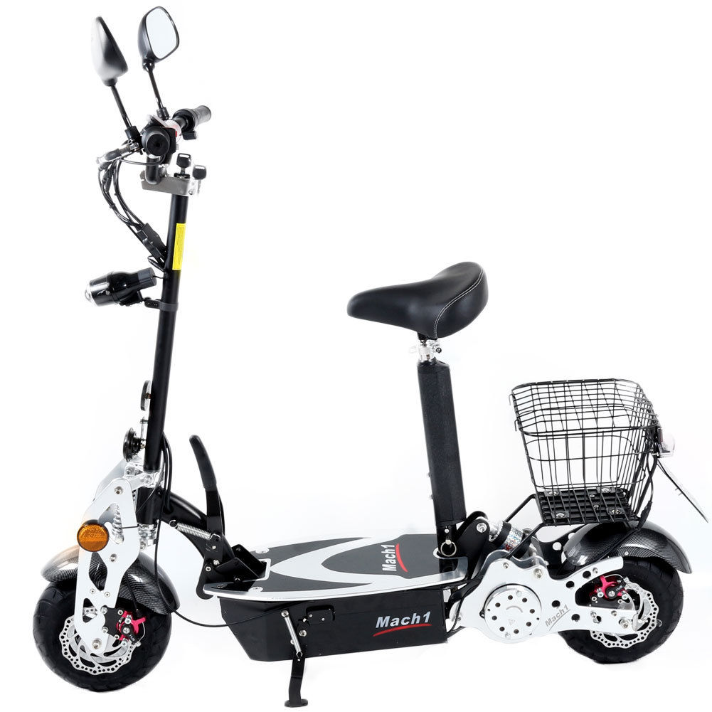 mach 1 trottinette lectrique 1000w 48v trott 39 n 39 scoot. Black Bedroom Furniture Sets. Home Design Ideas