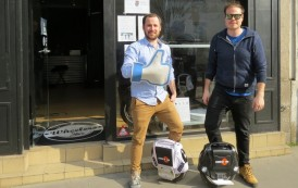 Nantes: La « wheel », nouveau moyen de transport urbain