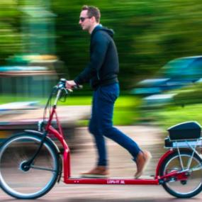 Lopifit, l'invention qui permet de faire du vélo en trottinant