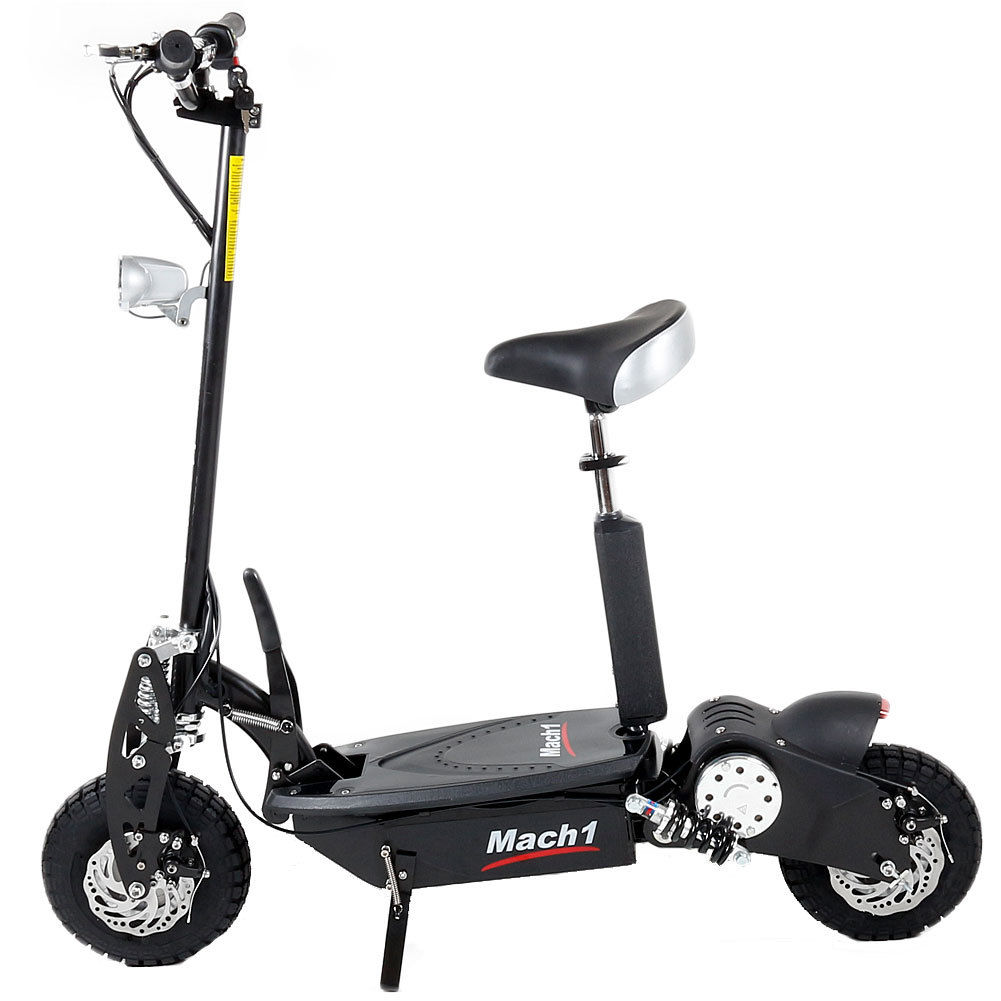 e scooter mach 1 1000w 36v trott 39 n 39 scoot have elec fun. Black Bedroom Furniture Sets. Home Design Ideas