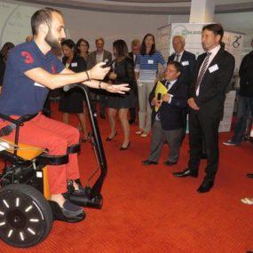 Le premier gyropode pour handicapés a été conçu à Vélizy