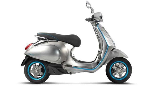 Vespa lance enfin son premier scooter électrique