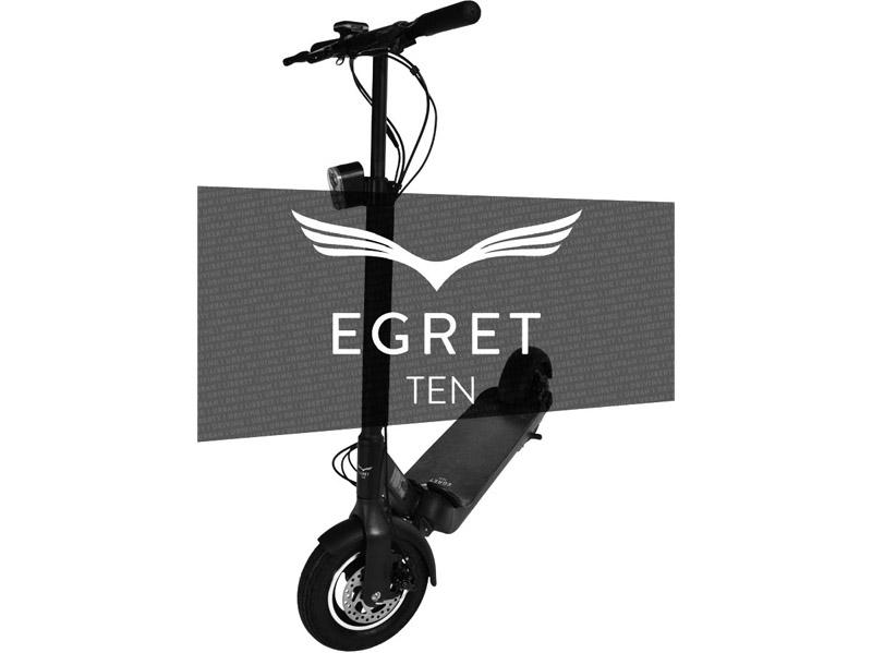 Egret : des trottinettes électriques Ten V2 & Eight