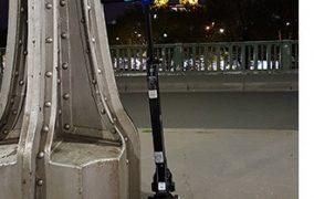 Trottinette électrique MP Man TR100 : roulez cheveux au vent !