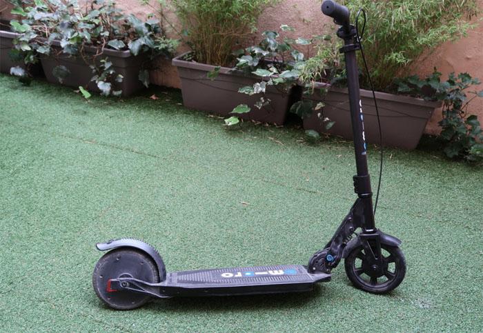 Prise en main de la trottinette électrique Micro Mobility Condor