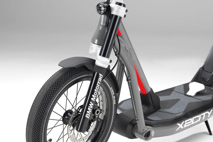 BMW Motorrad X2City : trottinette électrique