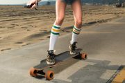 E-Go, la longboard électrique pour feignants du futur