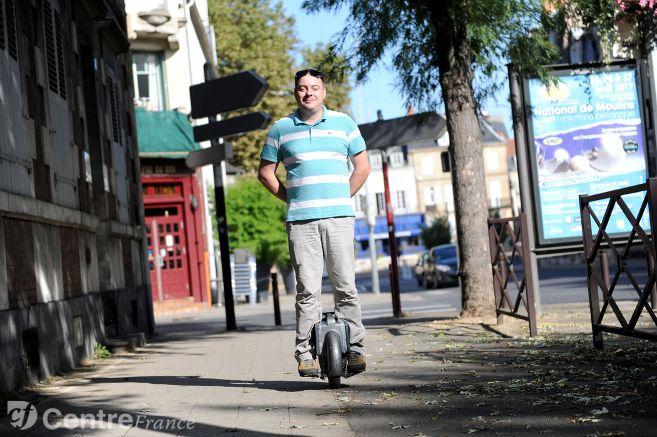 Vélos électriques, trottinettes, hoverboards : les nouvelles mobilités arrivent à Moulins