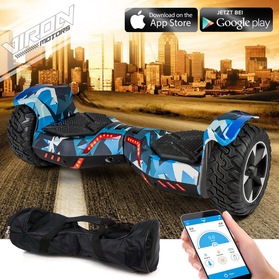 hoverboard viron motors suv tout terrain trott 39 n 39 scoot have elec fun. Black Bedroom Furniture Sets. Home Design Ideas