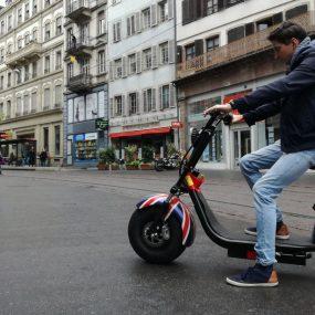 Strasbourg: Après les Segway, la ville peut désormais se visiter en trottinettes électriques
